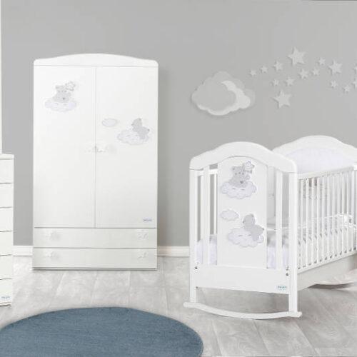 Camera bebelusi Coccolo alb