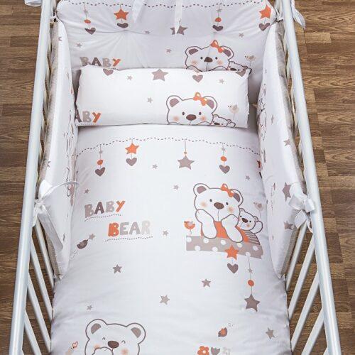 Lenjerie patut Baby Bear Crem