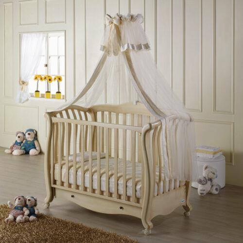 Patut bebelusi  ANDREA lemn masiv Babyitalia