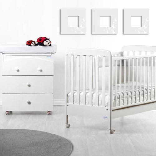 Patut bebelusi Amico lemn masiv Babyitalia