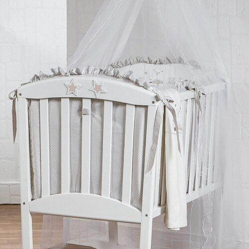 Patut mic Babybear complet cu textile